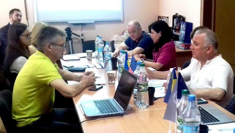 Про результати робочої зустрічі по написанню книги з діяльності юридичних клінік України