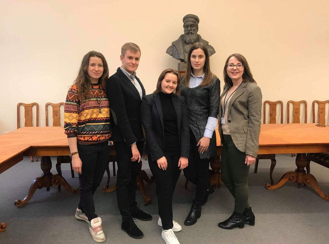 Team of the National University of Ostroh Academy Legal clinic