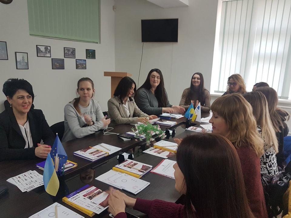 """Участь юридичної клініки """"Право і практика"""" у дискусії до Міжнародного жіночого дня"""