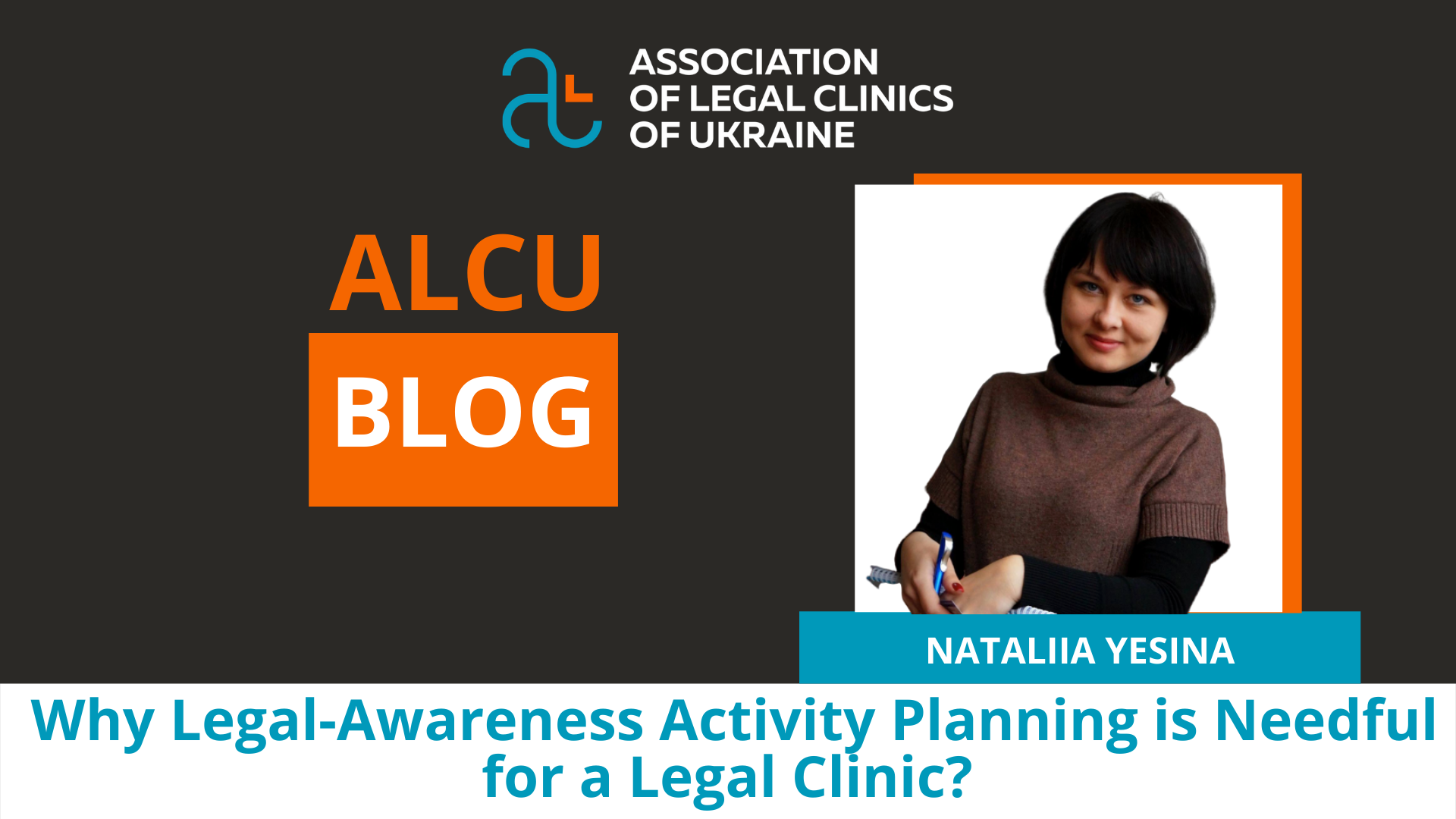 Why the Planning of Legal Activities is Necessary for a Legal Clinic?