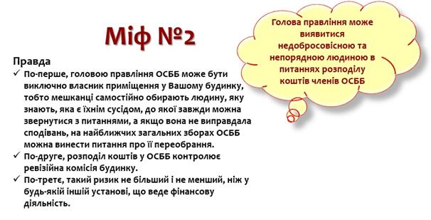 Особливості реєстрації ОСББ