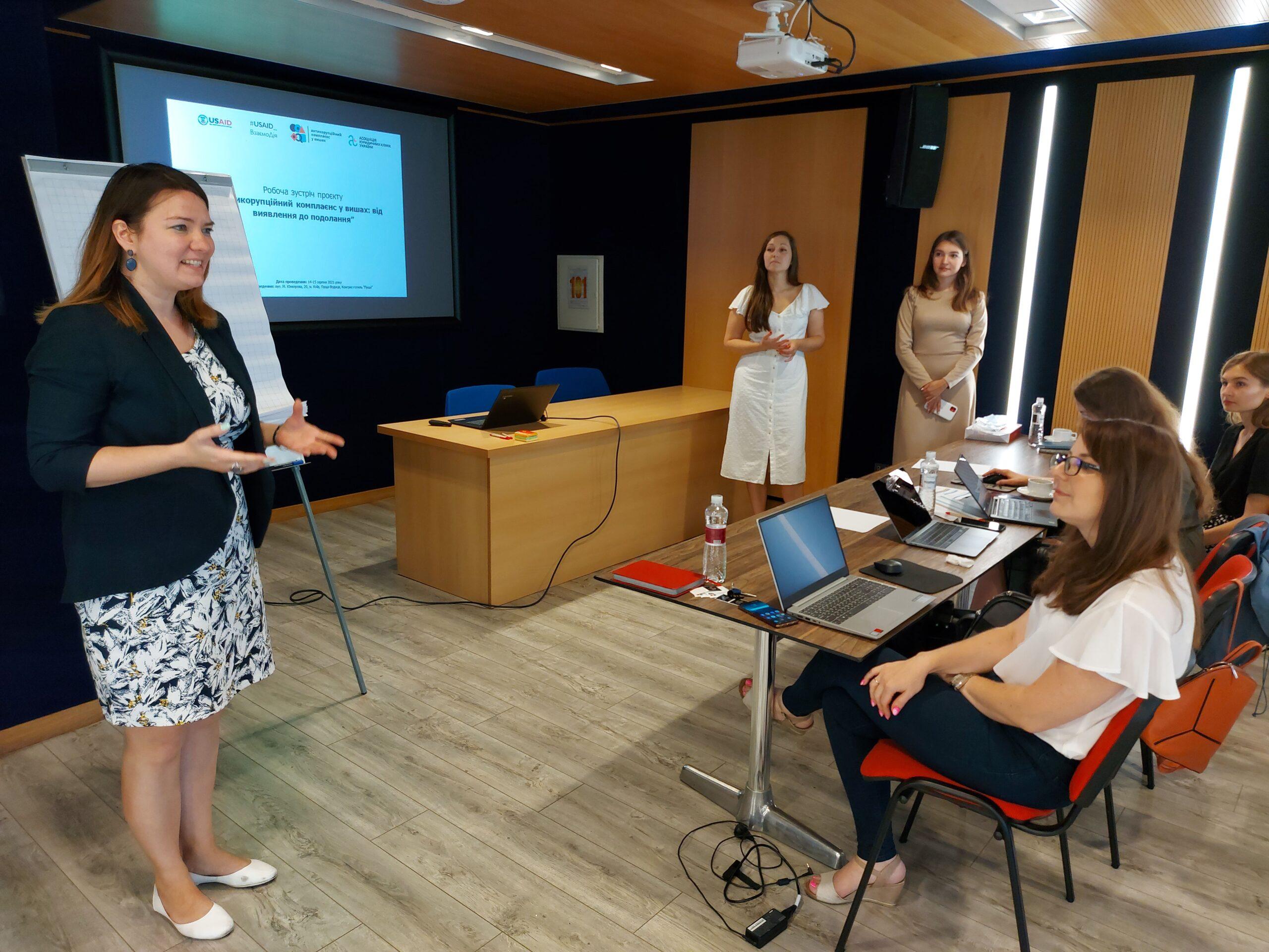 менеджерка проєкту, експертка з питань антикорупційної політики USAID «ВзаємоДія» Галина Кохан