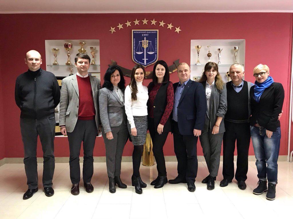 Робоча зустріч представників Асоціації юридичних клінік України у форматі «Правління+»