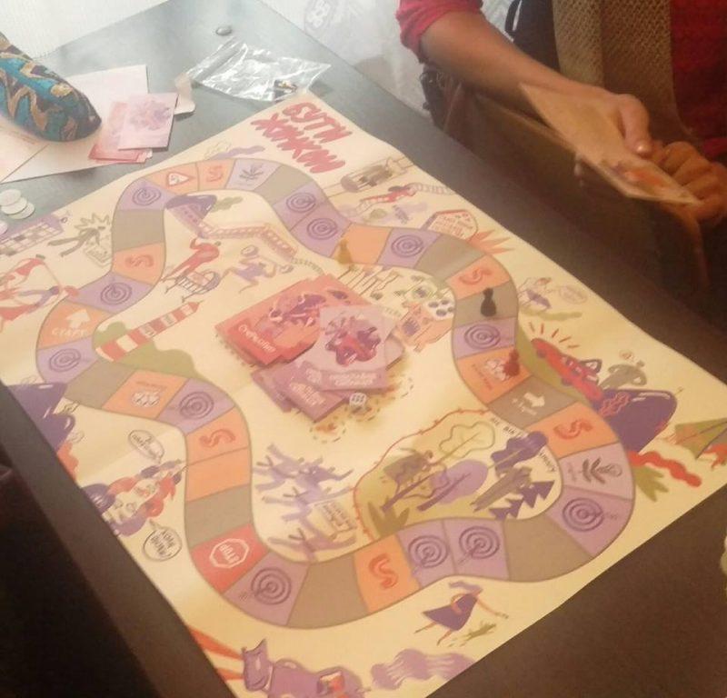 """Консультанти ЮК """"Pro bono"""" НаУОА вчилися модерувати проведення освітньої гри """"Бути жінкою"""""""