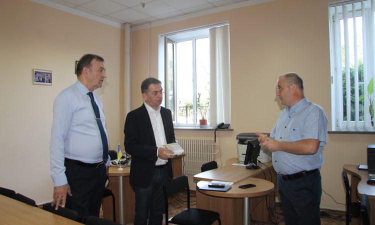 Заступник Міністра юстиції Гія Гецадзе завітав з робочим візитом до Юридичної клініки Національного юридичного університету імені Ярослава Мудрого
