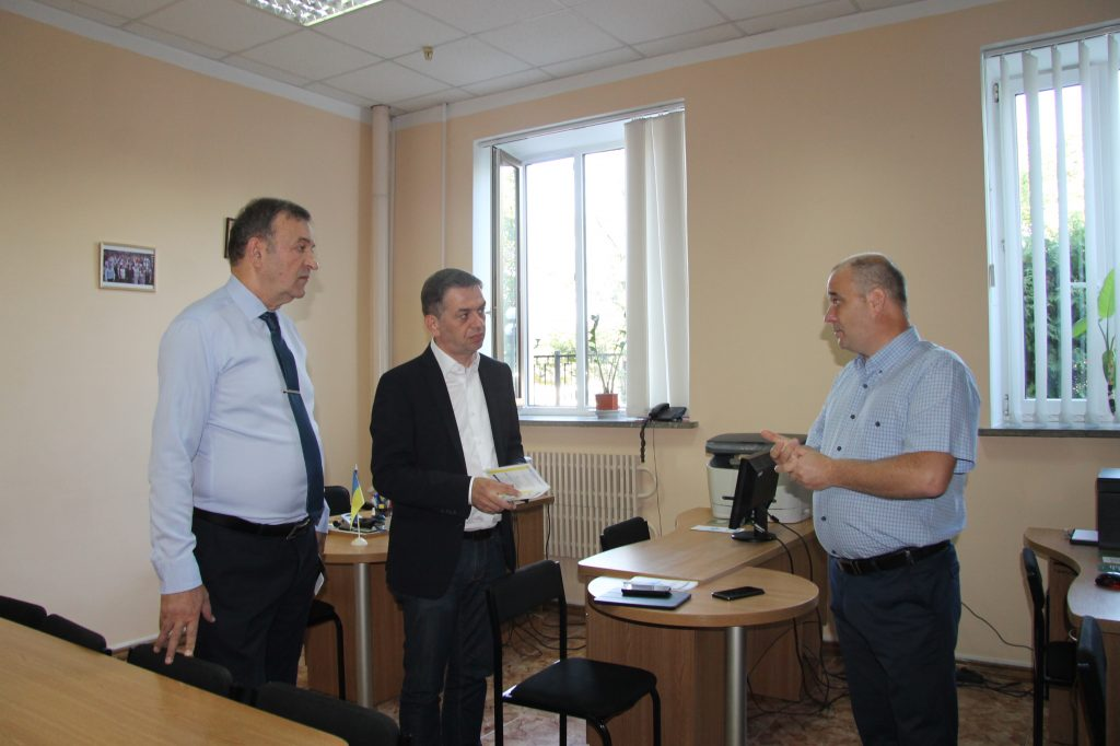 Deputy Minister of Justice Gia Getsadze had a working visit to Legal clinic of Yaroslav Mudryi National  Law University