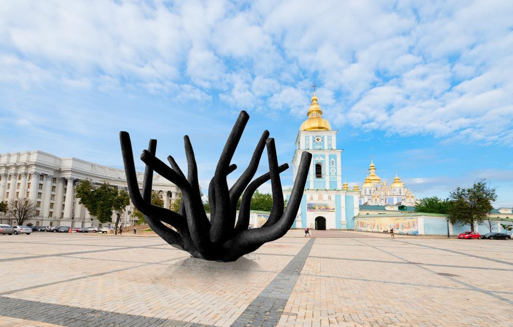 Акція-відкриття скульптури до Міжнародного дня проти катувань