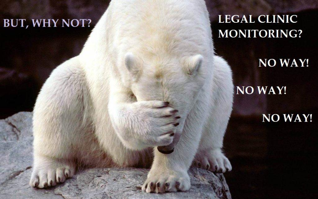 """""""По обидва боки барикад"""" – або ехінацея для юридичних клінік та їх керівників"""